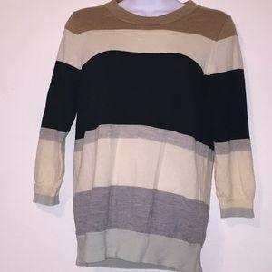 J. Crew Factory 100% Wool cardigan sweater.